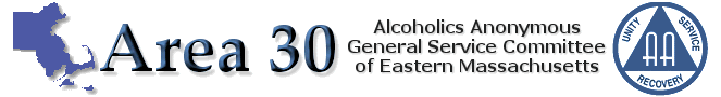 Area 30 Eastern MA Alcoholics Anonymous General Service Office